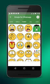 Emojis for whatsapp screenshot 4