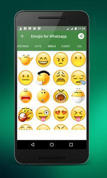 Emojis for whatsapp screenshot 5