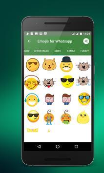 Emojis for whatsapp screenshot 9