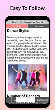 Easy Competitive Dance Tutorial screenshot 1