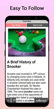 Easy Snooker Tutorial screenshot 1