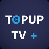 TOPUP TV+ icon