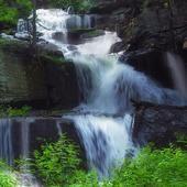 Swift waterfall live wallpaper icon