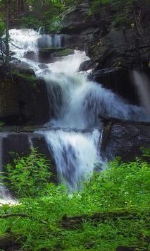 Swift waterfall live wallpaper screenshot 2