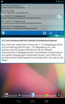 1. FC Magdeburg Widget screenshot 1