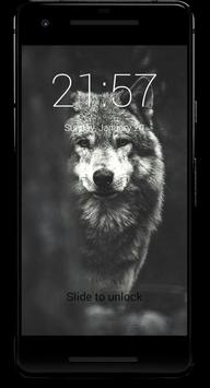 4K Wolf Lock Screen screenshot 2