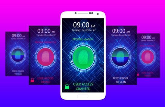 Fingerprint Lock Screen PRANK screenshot 2