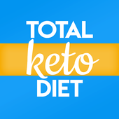 Total Keto Diet: Low Carb Recipes & Keto Meal Plan-icoon