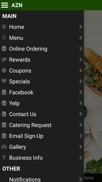 AZN Sandwich Bar screenshot 2