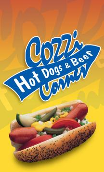 Cozzi Corner Hot Dogs & Beef poster