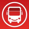 Bus- und Zugzeiten in Großbritannien Zeichen