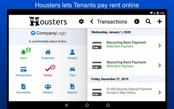 Housters, Property Management स्क्रीनशॉट 10