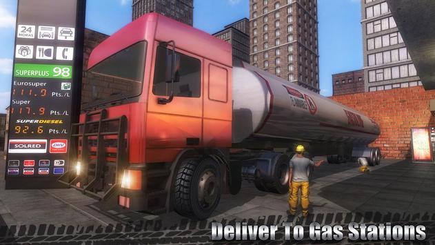 Oil Cargo Transport Truck screenshot 1