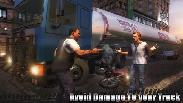 Oil Cargo Transport Truck screenshot 2