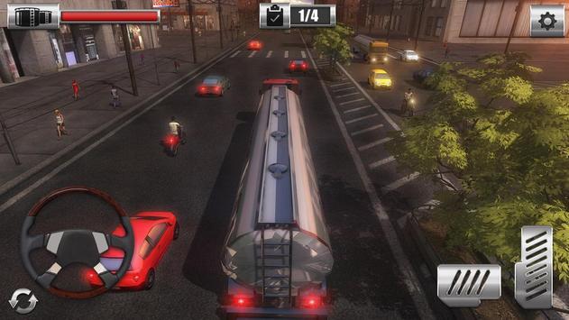 Oil Cargo Transport Truck screenshot 5