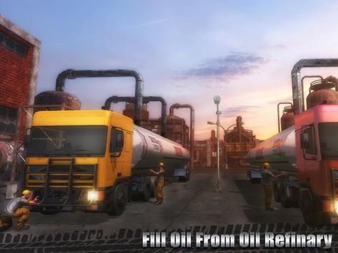 Oil Cargo Transport Truck screenshot 6