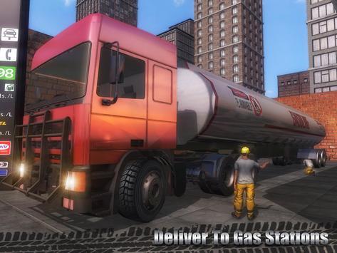 Oil Cargo Transport Truck screenshot 7