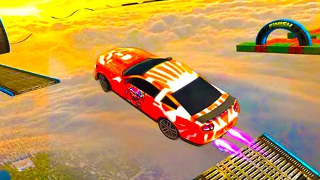 Impossible GT Car Stunts Racing poster