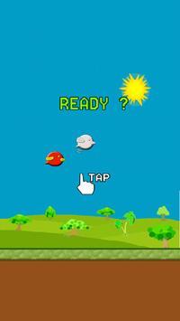 Flappy - Touch Bird screenshot 1