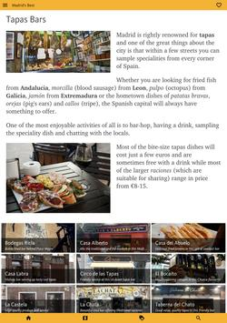 Madrid's Best: City Travel Guide screenshot 13