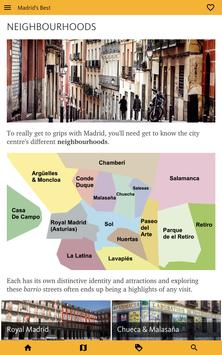 Madrid's Best: City Travel Guide screenshot 20