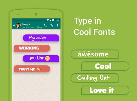 Bobble Indic Keyboard - Stickers, Ғonts & Themes screenshot 6