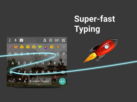 Bobble Indic Keyboard - Stickers, Ғonts & Themes screenshot 10