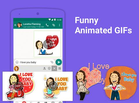 Bobble Indic Keyboard - Stickers, Ғonts & Themes screenshot 11