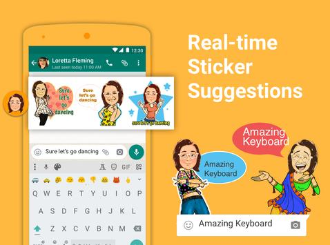 Bobble Indic Keyboard - Stickers, Ғonts & Themes screenshot 8
