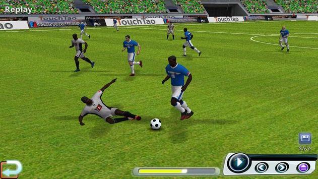 Ligue de football du monde capture d'écran 13