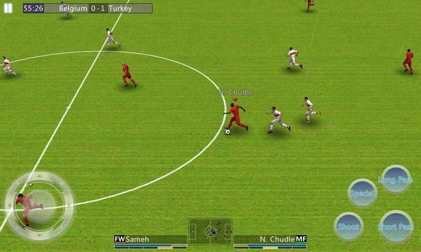 Ligue de football du monde capture d'écran 3