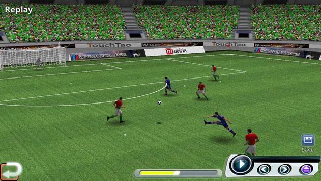 Ligue de football du monde capture d'écran 6