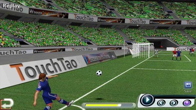 Ligue de football du monde capture d'écran 8