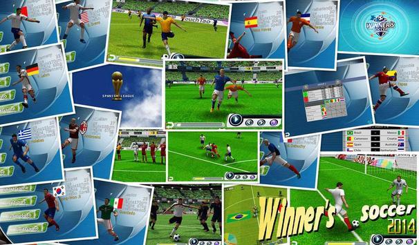 Fútbol del ganador captura de pantalla 13