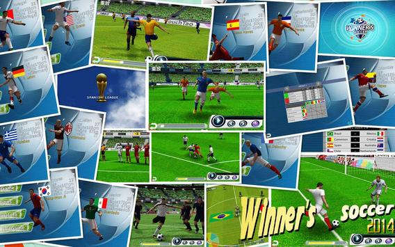 Fútbol del ganador captura de pantalla 7