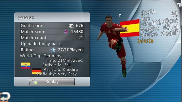 Football de vainqueur capture d'écran 3