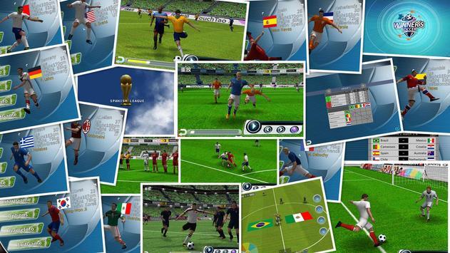 Football de vainqueur Affiche