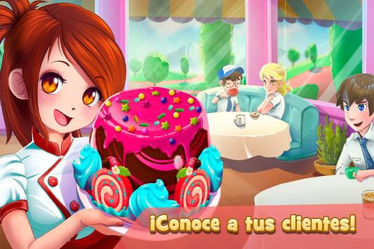 Camarera de Cafetería: Postres captura de pantalla 1