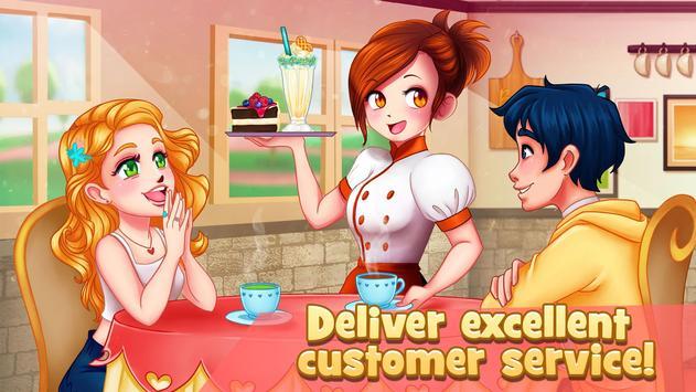 Pencuci Mulut Restoran: Pelayan Kafe Kedai syot layar 13