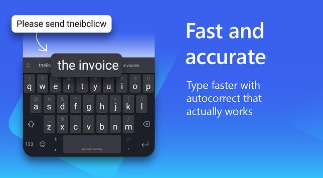 Microsoft SwiftKey Keyboard poster