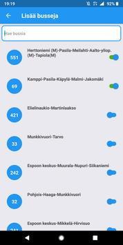 Bussit Kartalla - HSL Live bussit स्क्रीनशॉट 1