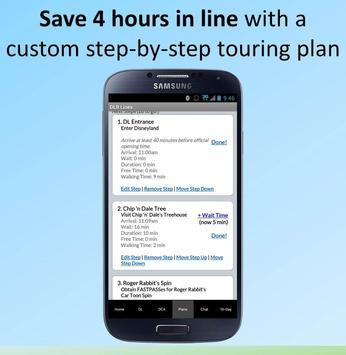 Disneyland Lines by TouringPlans.com captura de pantalla 1