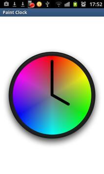 Paint Clock poster