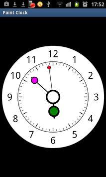 Paint Clock screenshot 1