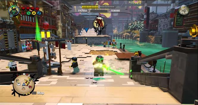 Tips LEGO Ninjago Tournament Kung Fu Obby Games poster