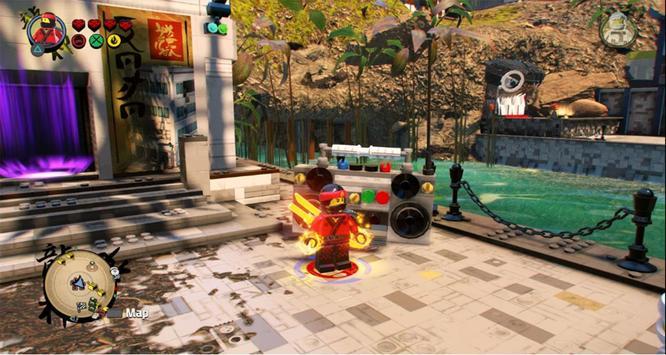 Tips LEGO Ninjago Tournament Kung Fu Obby Games screenshot 5
