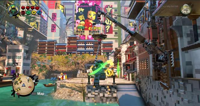 Tips LEGO Ninjago Tournament Kung Fu Obby Games screenshot 8