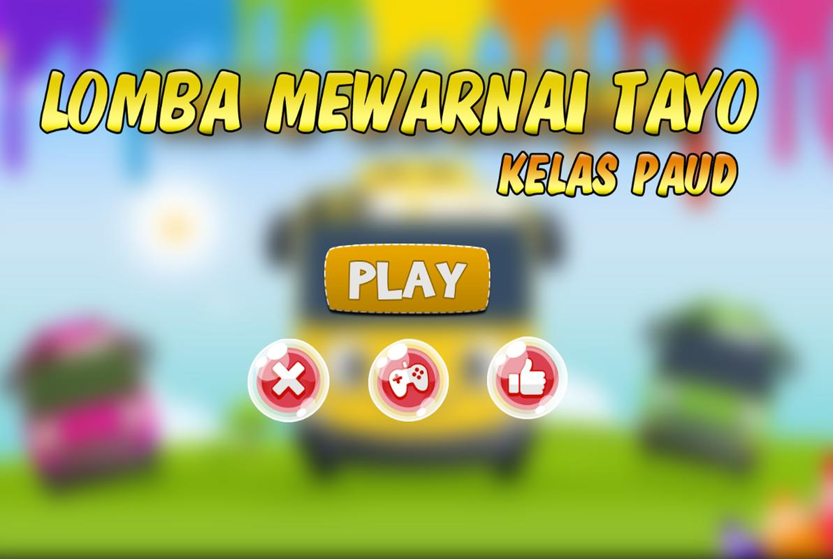 Lomba Mewarnai Tayo For Android Apk Download