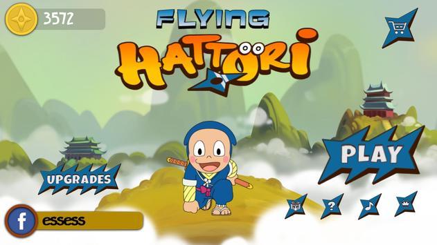 Flying Hattori poster
