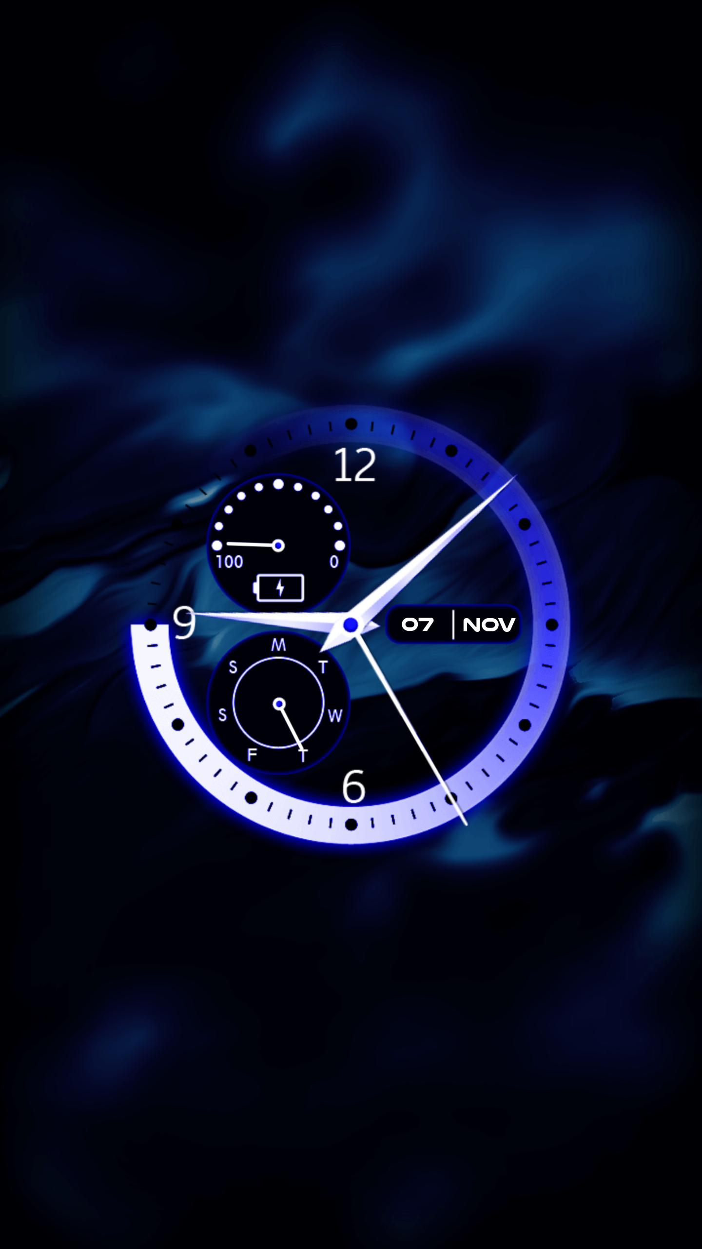 Analog Clock Live Wallpaper for Android - APK Download
